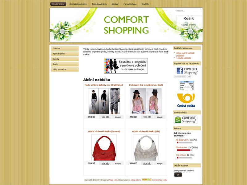 Comfort-shopping